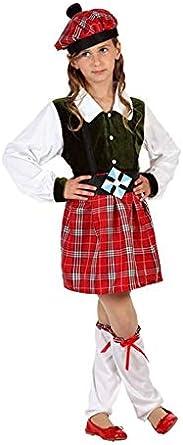 Atosa Disfraz de Escocesa Niña - Niña, de 7 a 9 años: Amazon.es ...