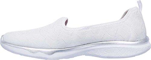 on Scoppiare Delle Sneaker White In Studio Skechers Donne Slip wwIqvZ0r