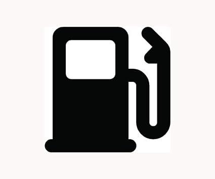 """100 Octane Fuel Gasoline Gas Printed Computer Die Cut Decal Sticker 3/"""" x 1/"""""""