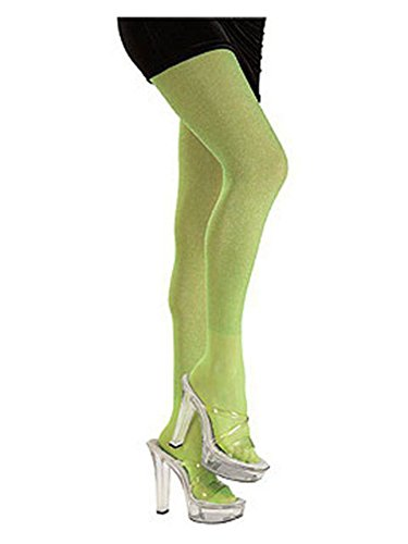 Lime Green Tights Costume Accessory One (Alien Halloween Costumes For Women)