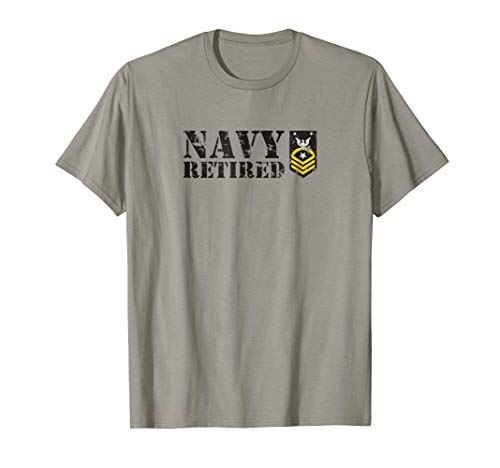 - USN Command Master Chief Petty Officer (CMC) Retired Shirt