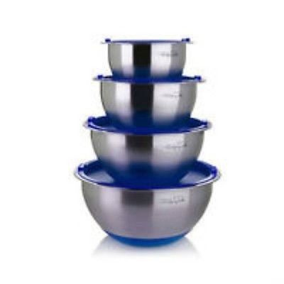 Wolfgang Puck Bistro Elite 12-piece Stainless Steel Mixing Bowl and Prep Set