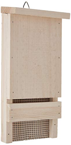 Coveside Mini Wooden Bat Box House Shelter - Houses up to 12 bats