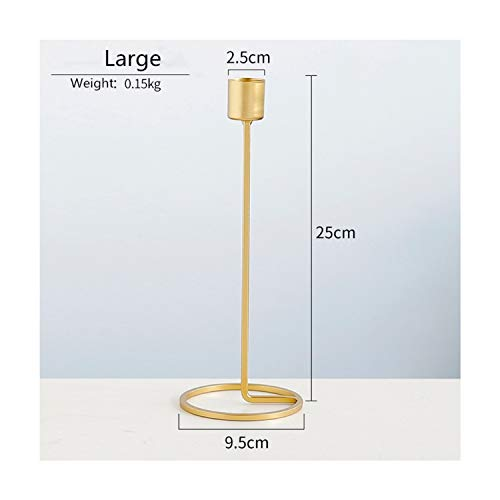 - Metal Candle Holders Gold Candlestick Wedding Candle Stand Exquisite Candlestick Table Home Decor,L