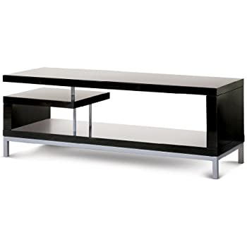 Poundex TV Stand, Black
