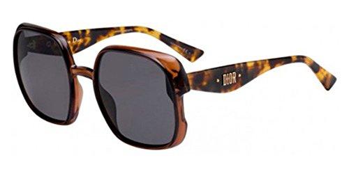 para Christian de Gris Gafas Havana 56 mujer sol Grey Dior Brown q6w6ZI