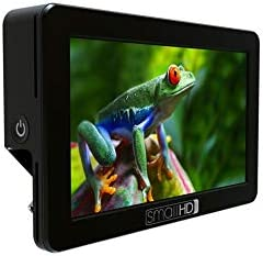 SmallHD FOCUS SDI 5 Daylight Viewable Touch Screen Camera Monitor with Tilt Arm 1280x720 IPS LCD Panel