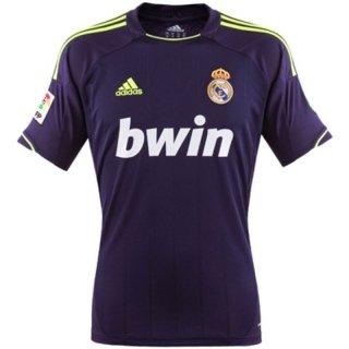 Real Madrid Boys Away Football Shirt (Navy Adidas 2012 Football)