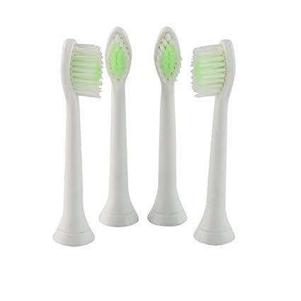 Diamondclean blanco cabezales de repuesto para cepillo de dientes eléctrico Philips Sonicare DiamondClean HX6064 de reemplazo