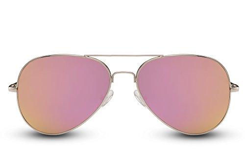 Plateado 015 Piloto de Cheapass Diseñador Ca Sol 400 UV Gafas Hombres Mujeres Aviador Metálicas Gafas Espejadas Zx6awqTB