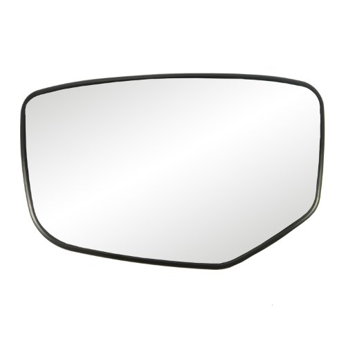Fit System 88215 Honda Accord Left Side Power Replacement Mirror Glass with Backing Plate