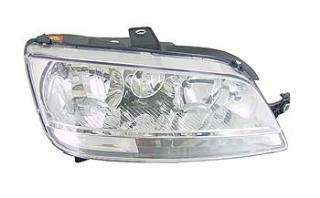 Right Driver Side Headlamp Front Head Light (With Clear Indicator With Fog lamp):