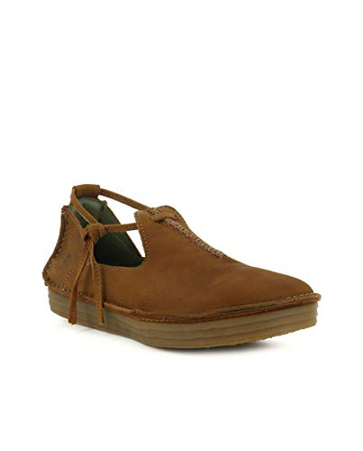 Wood Cuir N5044 Femme El Pleasant Field Lacets Naturalista rice Chaussures STxqcHBt