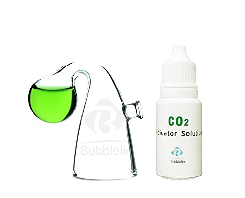 Aquarium Carbon Dioxide CO2 Monitor Kit pH Indicator for Planted Tank (Tank Detector Fish)