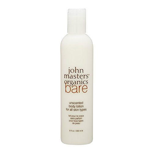 John Master Organics Bare Body Lotion, 8 Fluid Ounce