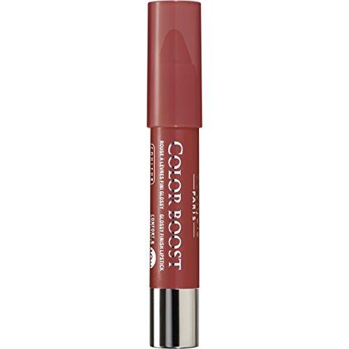 Colour Boost Lip Crayon SPF 15 - # 08 Sweet Macchiato Bourjois Lipstick Women 0.1 oz (Pack of 5)