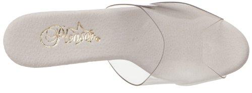 Pleaser Adore-701 - Zapatos Mujer Weiß (Clr/Wht)
