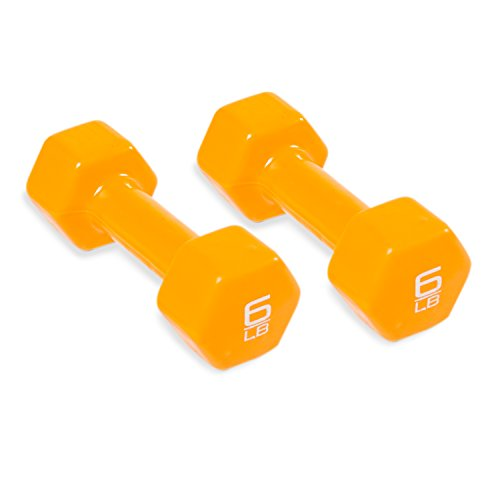 Cap Barbell Vinyl Coated Pair of Dumbbells Multiple