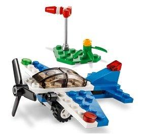 Lego pack of two 5 diameter 92842 black propeller 3 blades