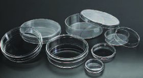 Sterile Petri Dish 55x13 mm, 28 ml, 60x15 mm, 500/CS EMS