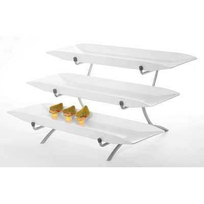 """CAL-MIL SR1033-39 3 Tier Incline Display, 12"""" Height, 18""""..."""