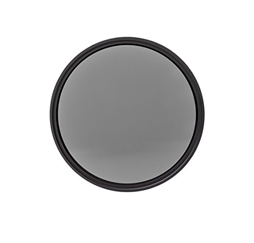 Heliopan 37mm Neutral Density 4x (0.6) Filter (703736) with specialty Schott glass in floating brass ring