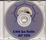 USS La Salle AP 102 WWII Cruise Book CD PDF