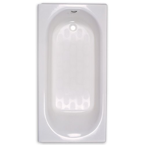 American Standard 2390.202.020 Princeton Recess 5-Feet by 30-Inch Left-Hand Drain Bath Tub, White