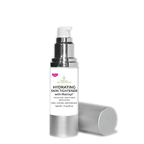 Hydrating Skin Tightener with Matrixyl Anti Wrinkles Under Eye Firm Sagging Loose Skin Dermatologist Preferred with Diet & Recipe Guide Free