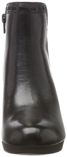 Botas Adriel Leather Para Mujer Clarks Sadie Negro black Militar 47nx8Eq