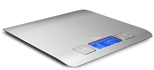 Zenith Digital Kitchen Scale by Ozeri, in Refined Stainless Steel