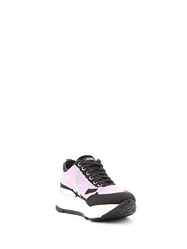Sneakers Pelle Ruco Line Rosa Donna 400983614rosa BvxPCwxq