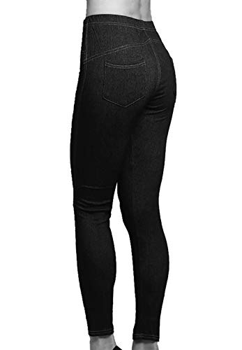 Style Unita Riddled With Nero Jeans Tinta Donna 1wRqv