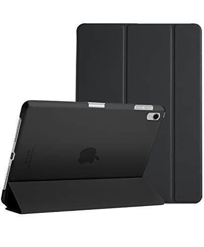 ProCase Slim Case for iPad Pro 12.9 2018, Lightweight Stand Protective Case Shell with Translucent Frosted Back Cover for Apple iPad Pro 12.9 Inch 2018 Released –Black