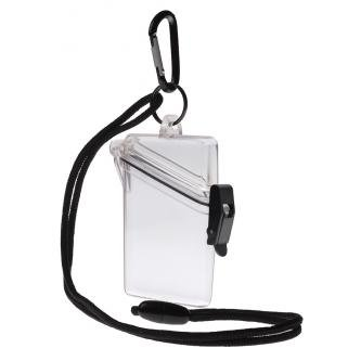Witz 00411-Clear See it Safe Waterproof ID/Badge Holder Case, - Business Park Airport