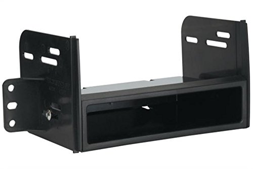 (SCOSCHE NN1662B 2007-11 Nissan Versa Double DIN or DIN w/Pocket Install Dash Kit)