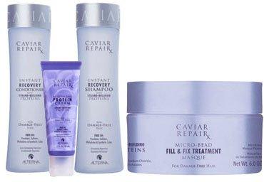 Alterna Caviar Repair Rx Starter Kit (Caviar Shampoo Alterna Volume)