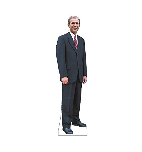 Advanced Graphics President George W. Bush Life Size Cardboard Cutout Standup (George Bush Best President)