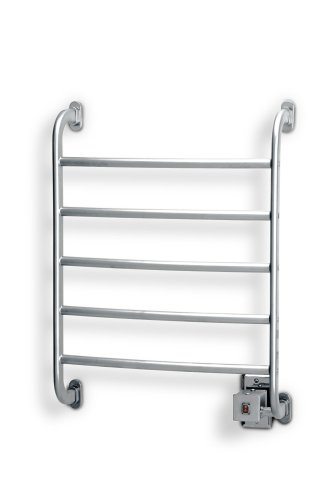 (Warmrails HSRC Regent Wall Mounted Towel Warmer, Chrome Finish)