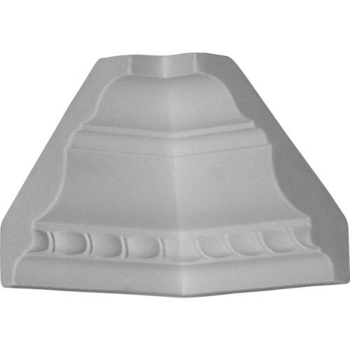 Ekena Millwork MIC02X02CR  3-Inch P x 3-Inch H Inside Corner for Molding (Installing Crown Molding Inside Corner)