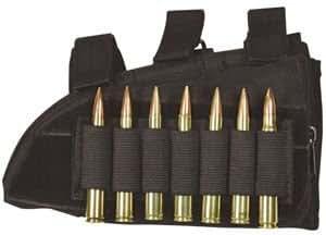 Negro derecho Butt Stock Cheek Rest - Rifle