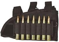Fox Outdoor Butt Stock Cheek Rest - Rifle, Black - Right 55-481