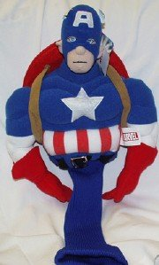 Captain America Headcover, Outdoor Stuffs