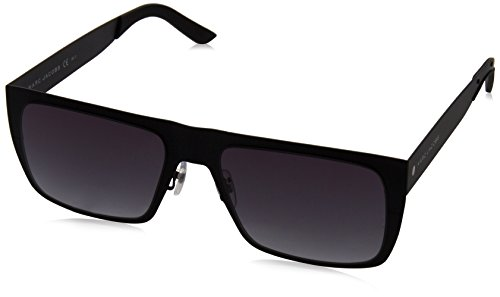 Marc Jacobs Men's Marc55s Rectangular Sunglasses, Matte Black/Gray Gradient, 55 - Marc Sunglasses Mens Jacobs