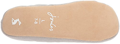 Joules Womens Slippoms Slipper Grey