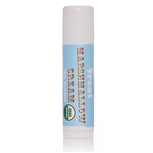 Treat Jumbo Lip Balm   Marshmallow Cream  Organic   Cruelty Free   50 Oz