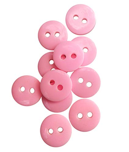 (NDC Pink Sewing Craft Buttons 100 Pack)