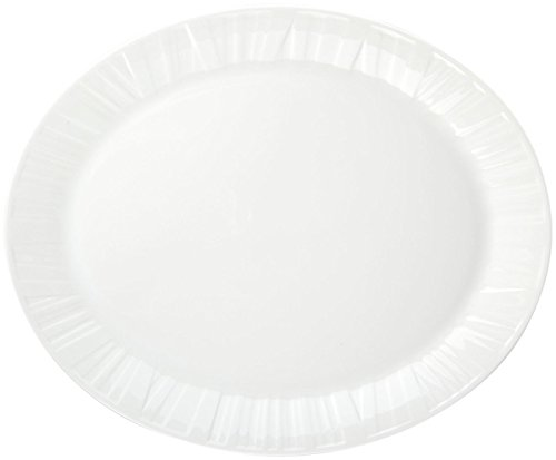 Wedgwood China Open Vegetable Dish (Vera Wang Wedgwood Organza Oval Platter, 13-Inch)