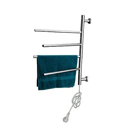 Calentador de toallas eléctrico, radiador eléctrico para baño,