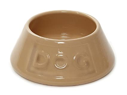 pet supplies mason cash 8 1 4 inch cane non tip dog bowl lettered